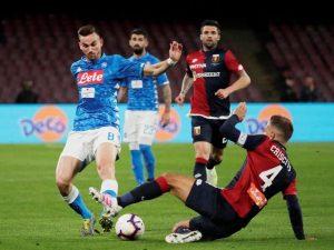 Napoli Masih Di Tahan Imbang Oleh Genoa