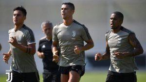 Cristiano Ronaldo Mulai Latihan Kemabali Di Juventus